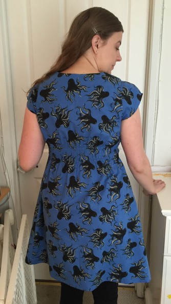 Blue-dress-back